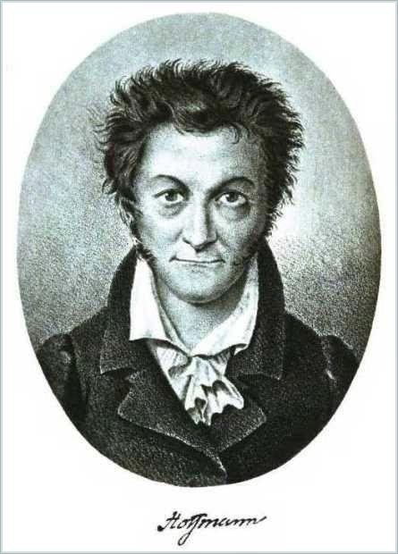 E.T.A. Hoffmann - Selbstporträt