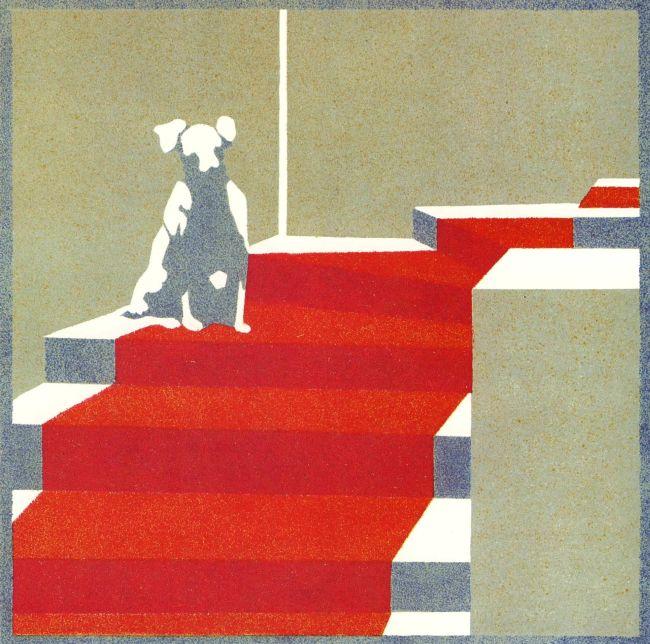 Nora Exner, Entwurf für eine dekorative Malerei, 1902, aus: Die Fläche I/1, 1902