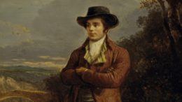 Robert Burns gemalt von Alexander Nasmyth. Scottish National Portrait Gallery, Edinburgh.