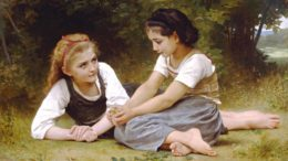 William-Adolphe Bouguereau (1825–1905): Die Nusssammlerinnen