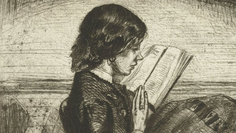 James Abbott McNeill Whistler: Portrait of Deborah Delano reading, 1858, Rijksmuseum Amsterdam