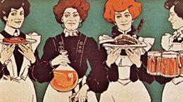 Ausschnitt aus Plakat, Wien, um 1905
