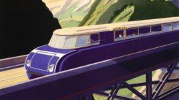 Ausschnitt aus einem Plakat der Österreichischen Verkehrswerbung, 1935. Entwurf: Erich von Wunschheim