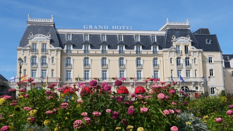 Das Grand Hotel in Cabourg