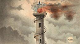 Detail aus: Debenne, Entwurf für einen Leuchtturm, um 1815 (Metropolitan Museum of Art, New York)