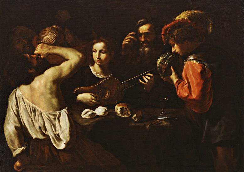 Pietro Paolini: Allegorie der Fünf Sinne (um 1630)
