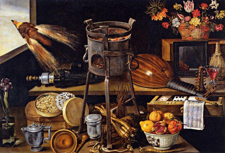 Jacques Linard: Die Fünf Sinne und die Vier Elemente (1627)