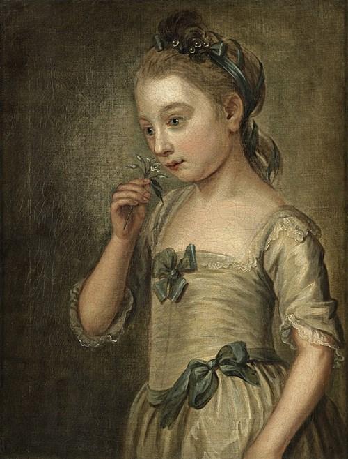 Philippe Mercier: Der Geruchssinn (1750)