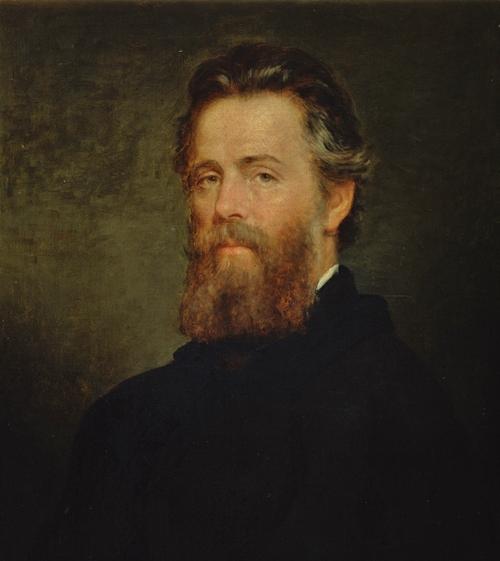 Porträt Herman Melvilles von Joseph Oriel Eaton, 1870.