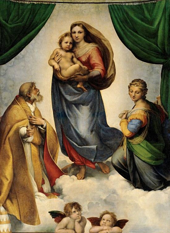 Raffael, Sixtinische Madonna, 1513/14