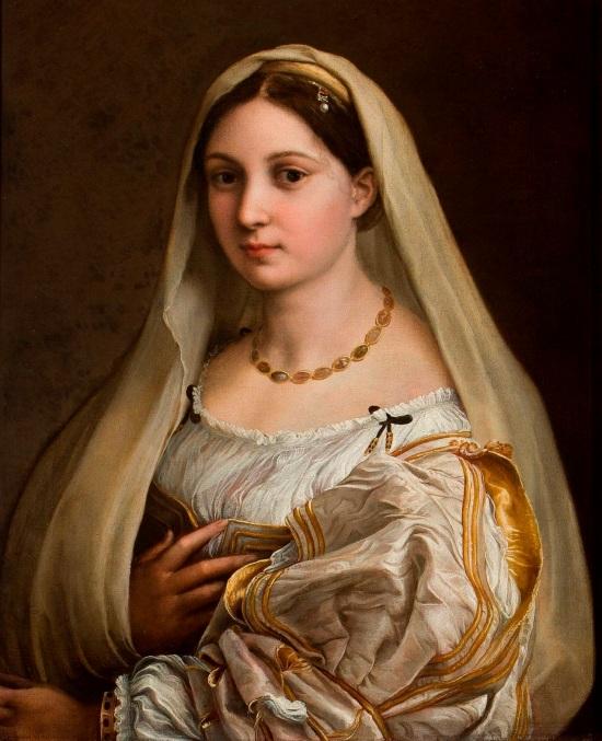 Raffael, Donna Velata, entstanden zwischen 1512 und 1518