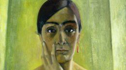 Anita Rée, Selbstbildnis, 1930, Ausschnitt (Alle Abbildungen: Wikimedia Commons).