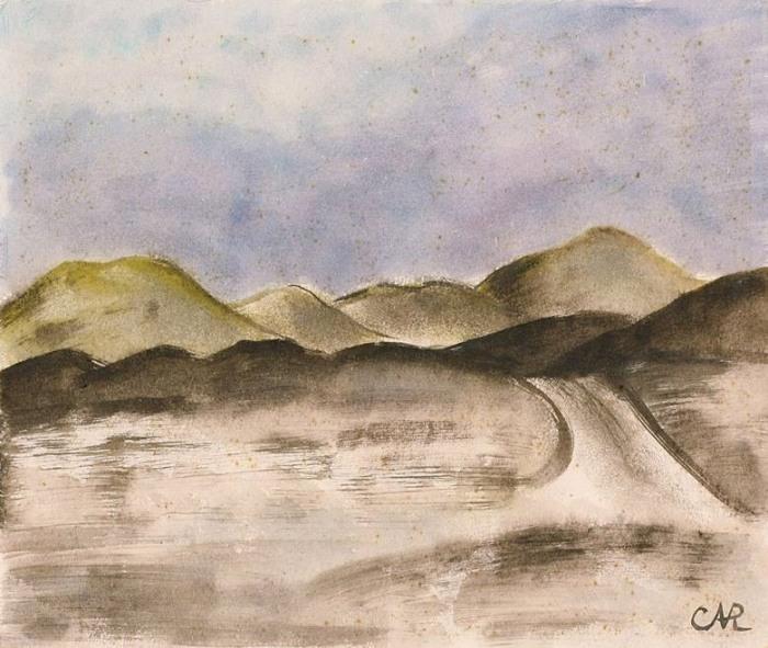 Anita Rée, Dünenlandschaft, 1932