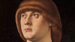 Jacometto Veneziano: Porträt eines jungen Mannes. 1480 (Metropolitan Museum of Art, New York)
