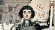 "Albert Lynch: Jeanne d'Arc. Titelblatt von ""Figaro Illustré"", 1.4.1903 (Ausschnitt)"