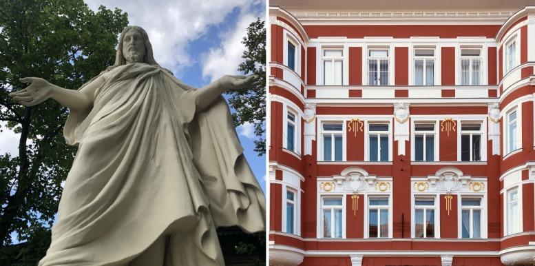 """Aus dem Band """"Almost. 100 Städte in Wien"""": """"Almost Rio de Janeiro"""" und """"Amost Gomel"""". Fotos © Wojciech Czaja"""