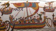 """Ausschnitt aus dem dänischen """"Teppich von Bayeux"""" (Alle Fotos: B. Denscher)"""