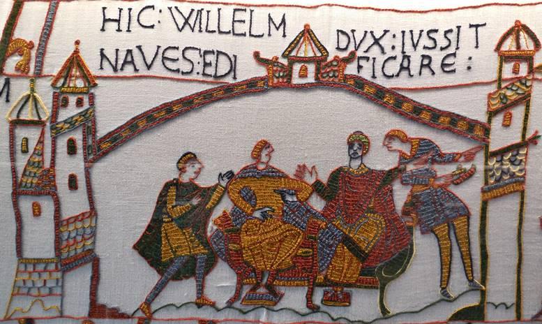 """Ausschnitt aus dem dänischen """"Bayeux-Teppich"""""""