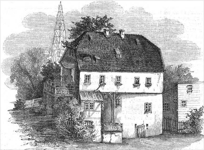 Immanuel Kants Wohnhaus in Königsberg.