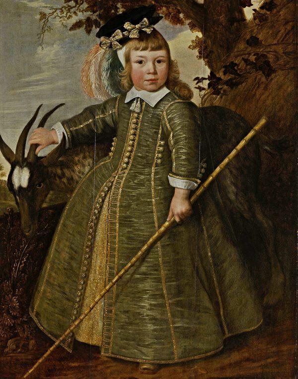 Jan Albertsz Rotius, Porträt eines Knaben mit Ziegenbock, 1652 (Rijksmuseum, Amsterdam).