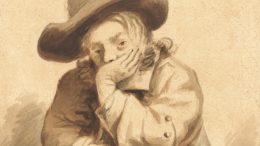 Jurriaan Cootwijck (1724–1798), Junger Mann, sich auf einen Stuhl stützend (Rijksmuseum Amsterdam)