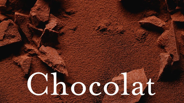 """Ausschnitt aus dem Cover des Bandes """"Chocolat. Das Buch der süßen Leidenschaft"""", Foto © Fabrice Bouquet"""