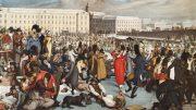 Georg Emanuel Opiz: Der Eislaufplatz beim Stubentor (1805)
