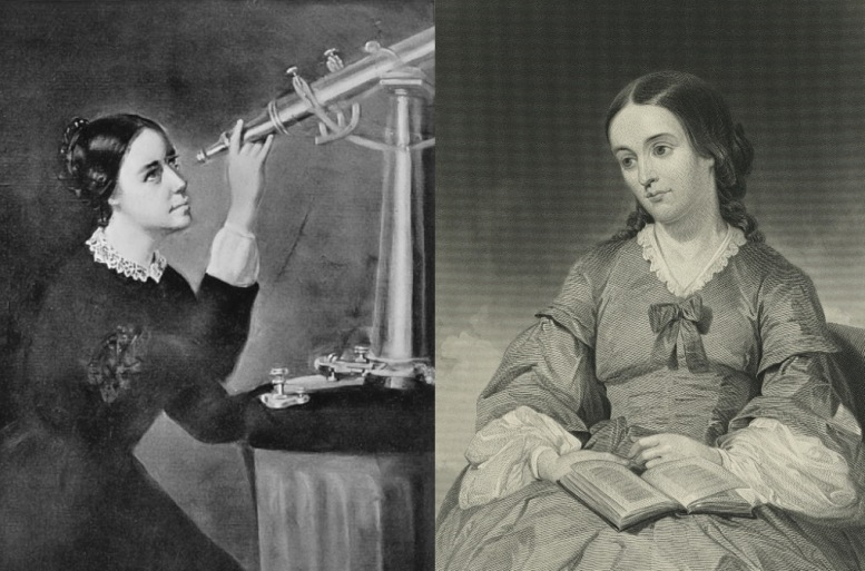 Links: Maria Mitchell. Rechts: Margaret Fuller (beide Abb.: Wikimedia Commons)