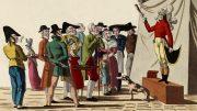 Anonym: Le Grand Charlatan. Druckgrafik, 1. Hälfte des 19. Jahrhunderts