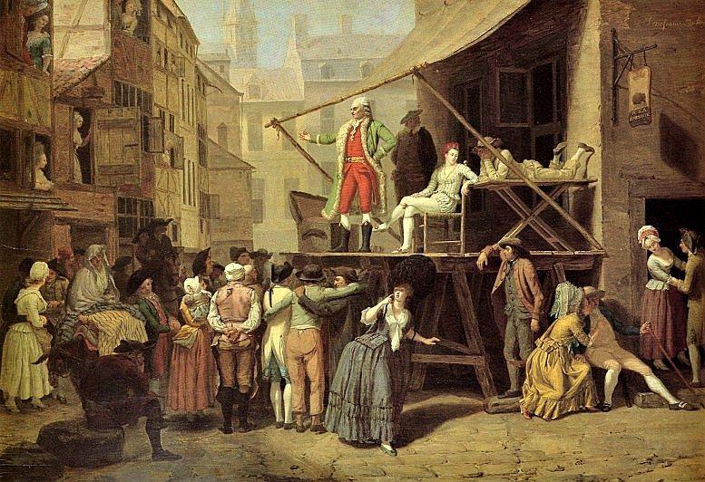 Léonard Defrance: Le Charlatan. Ca. 1784