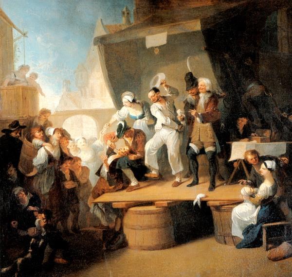 Franz Anton Maulbertsch: Der Quacksalber. Um 1785.
