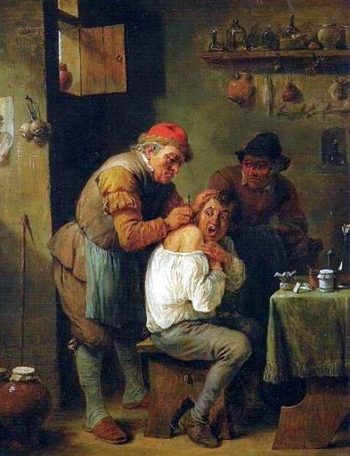 David Teniers d. J.: Operation. 1655.