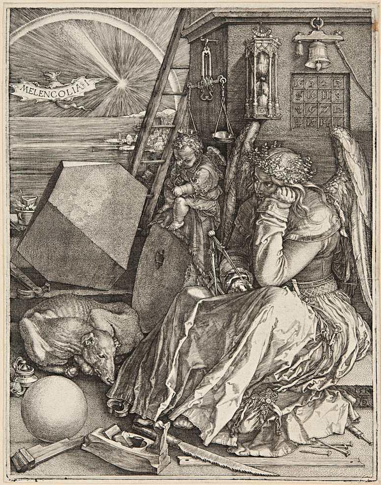 Albrecht Dürer: Melencolia I (1514)