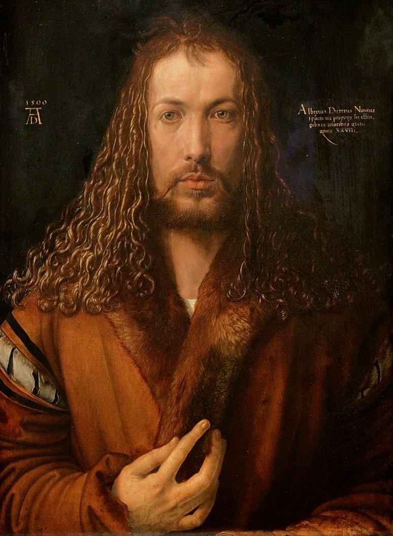 Albrecht Dürer: Selbstbildnis im Pelzrock (1500)
