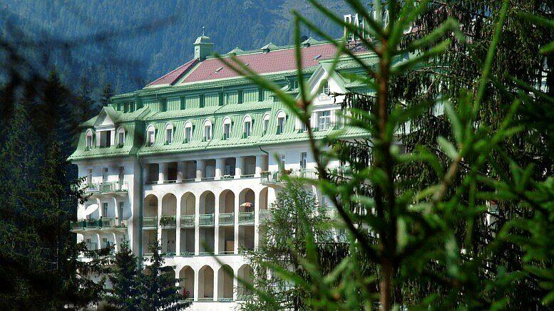 Das Hotel Panhans am Semmering. Alle Fotos in diesem Beitrag © K. Holzer