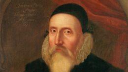 """Der englische Gelehrte John Dee (1527–1608 oder 1609), eine der Figuren aus dem Roman """"Die Sprache des Lichts"""""""