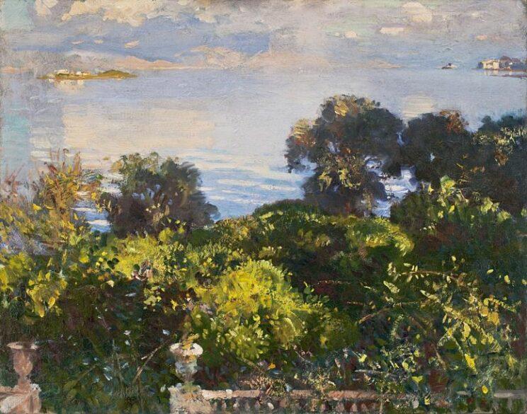 John Singer Sargent: Orangenbäume auf Korfu. 1909. Wikimedia Commons